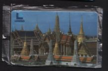 RARE 1 st issue Lenso Thailand phonecard telephone card #183